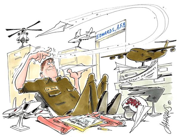air force cartoon 1