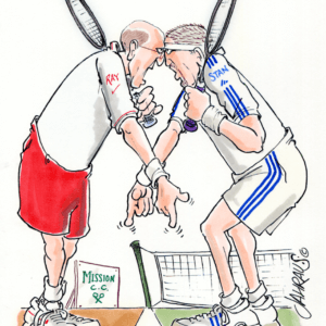 angry tennis player cartoon 1