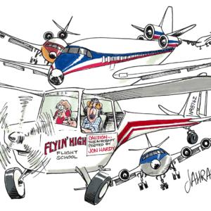 aviator cartoon 1