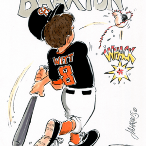 Baseball Player Cartoons