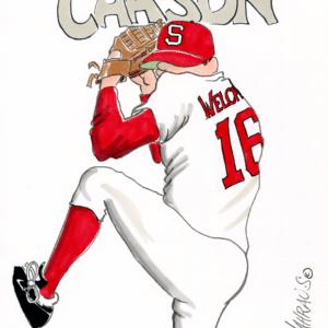 baseball pitcher cartoon 1