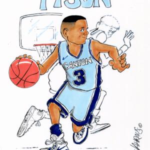basketball dribbling cartoon 1
