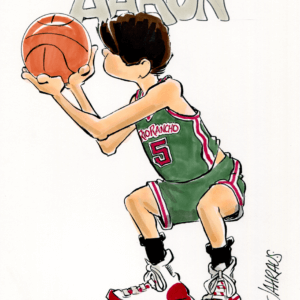 Basketball Player Cartoons
