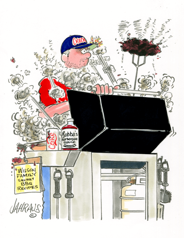bbq cartoon 2