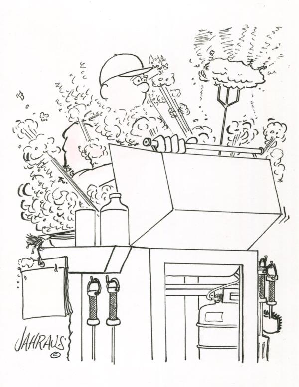 bbq cartoon 3