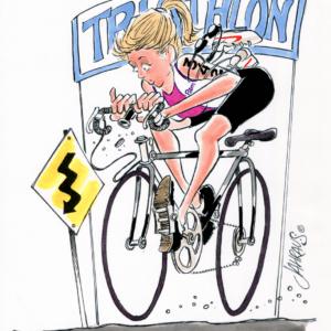 bicyclist cartoon 1