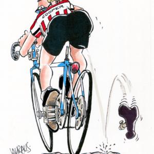 bike rider cartoon 1