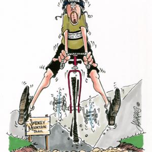 biker cartoon 1