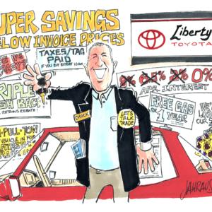 Salesman Cartoons