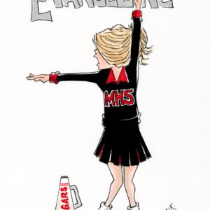 cheerleader cartoon 1