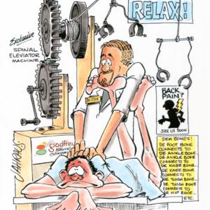 Chiropractor Cartoons