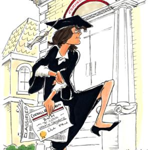 college graduate cartoon 1