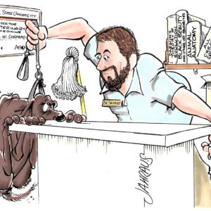 companion veterinarian cartoon 1