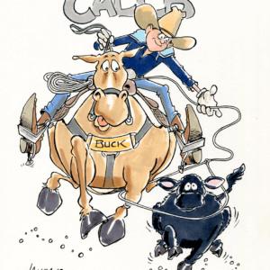 cowboy cartoon 1