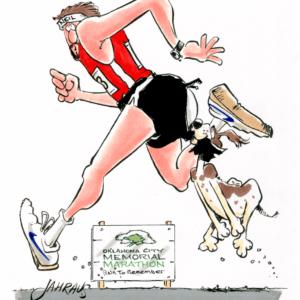 distance runner cartoon 1