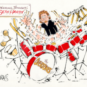 drummer cartoon 1