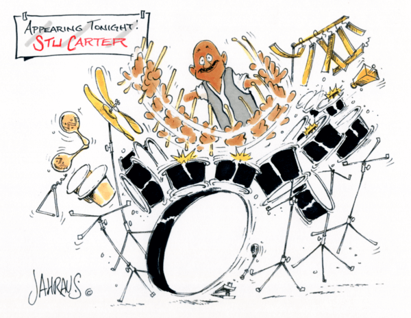 drummer cartoon 2