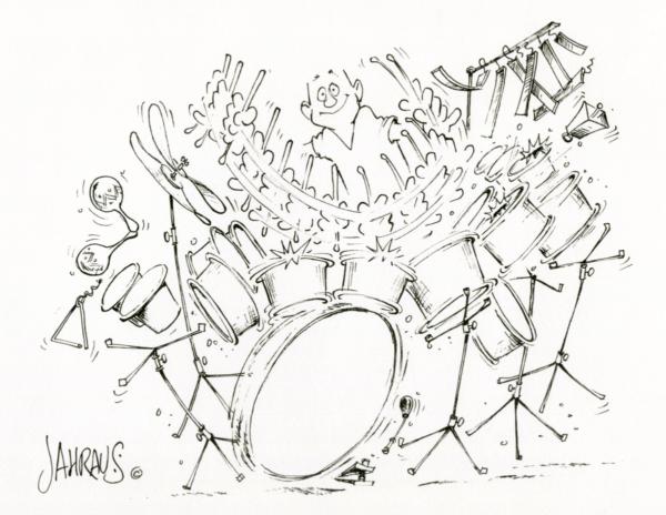 drummer cartoon 3
