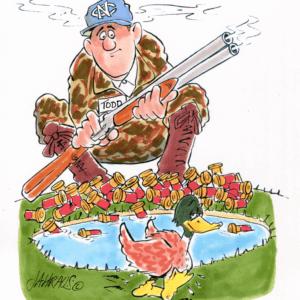 duck hunter cartoon 1