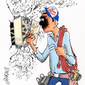 Electrician Cartoons