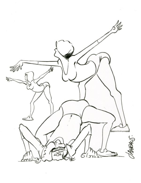 exercise cartoon 3