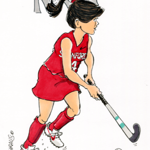 field hockey cartoon 1