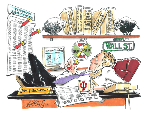 financial analyst cartoon 2