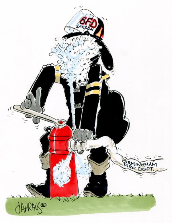 firefighter cartoon 2