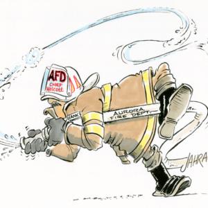 Firefighter Cartoons