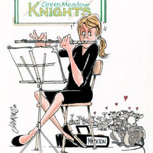 flautist cartoon 1
