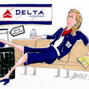 Flight Attendant Cartoons