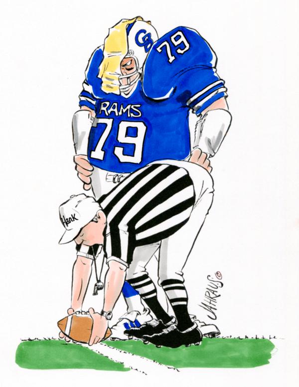 football referee cartoon 1