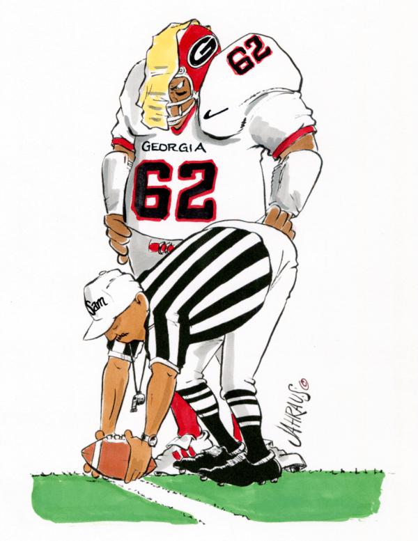 football referee cartoon 2