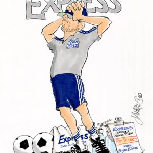 frustrated coach cartoon 1