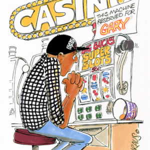 Gambler Cartoons