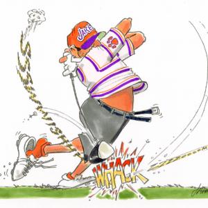 golf driver cartoon 1