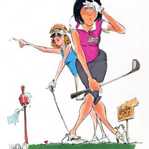 golf partners cartoon 1