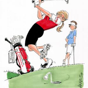 golf putting cartoon 1