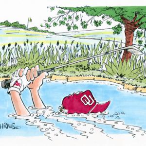 golf water hazard cartoon 1