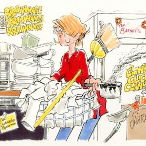 Housewife Cartoons