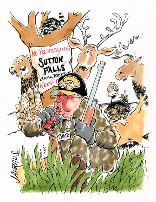 hunter cartoon 1