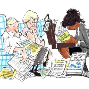 Insurance Agent Cartoons