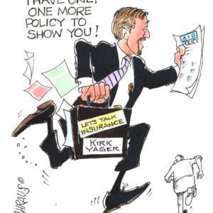insurance salesman cartoon 1