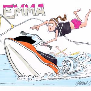 jet ski cartoon 1