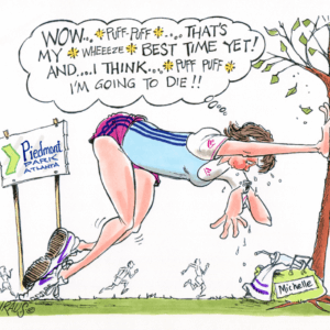 jogger cartoon 1