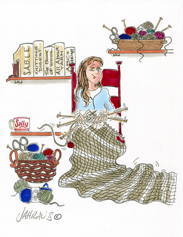 knitter cartoon 1