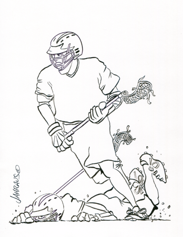lacrosse cartoon 3