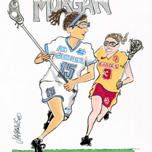 lacrosse player cartoon 1