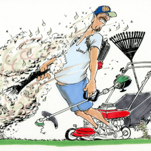 lawncare cartoon 1