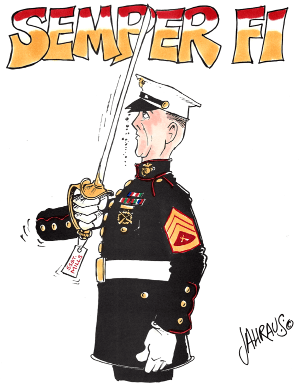 marine cartoon 1